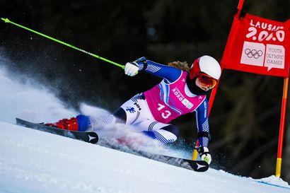 Rosa Pohjolainen kurvaili olympiahopeaa Sveitsissä