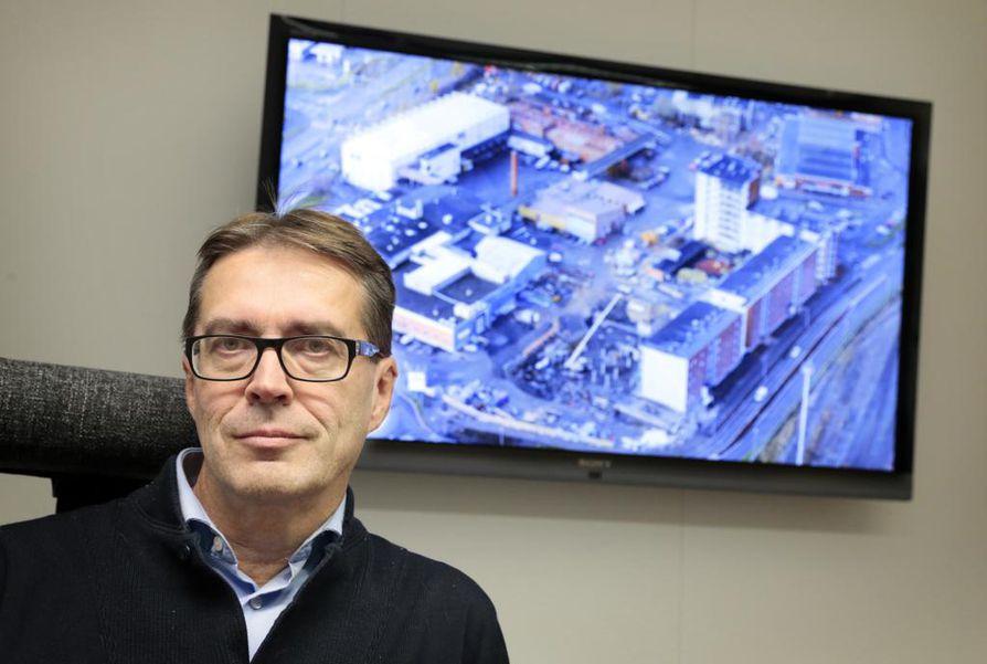 Tarkastusarkkitehti Esa Kauppi.
