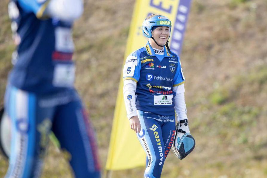 Emmi Särkioja jatkaa Kempeleen Kirin riveissä myös ensi kaudella.