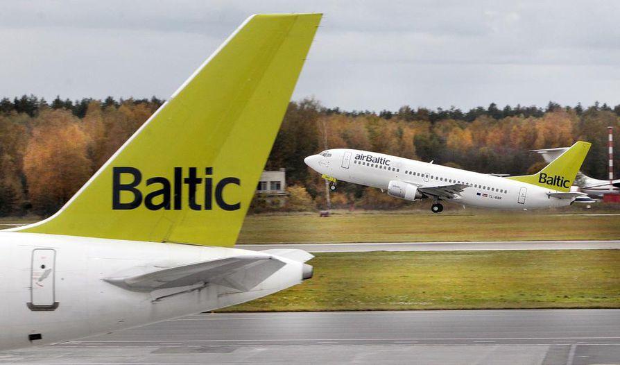 Rantapallon halpalentoyhtiölistauksesta löytyy muun muassa Air Baltci.