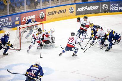 Hermes tasasi puntit Rovaniemen Kiekon kanssa