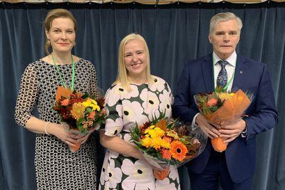 """Keskustan Pohjois-Pohjanmaan piirin uusi puheenjohtaja on Marjut Lehtonen Oulaisista – """"Tulevat aluevaalit ovat nyt ykkösasia ja tärkein työsarkamme"""""""
