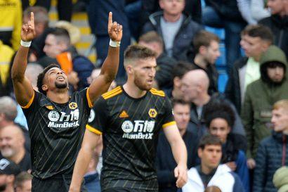Manchester City koki sokkitappion kotikentällä – Wolverhamptonin Adama Traore iski kahdesti