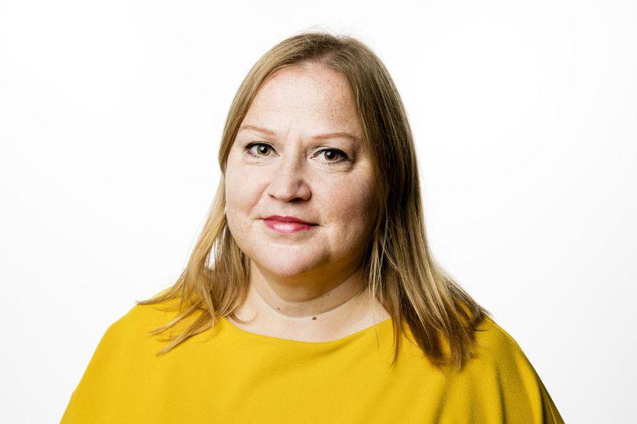 Toimittaja Hannamari Ahonen