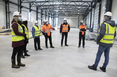 Siklan Rantsilan tuotantotilat harjakorkeudessa – laiteasennukset alkavat toukokuussa