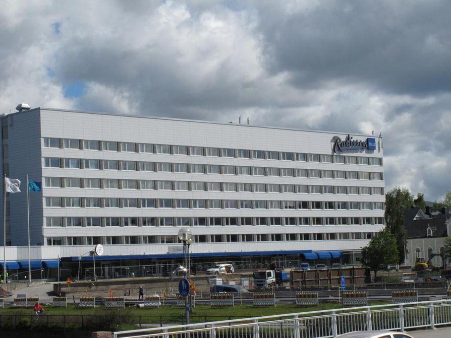 Rakennuslautakunta myönsi keskiviikkona luvan Radisson Blun remontille.