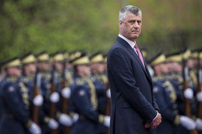 Kosovon presidenttiä epäillään sotarikoksista
