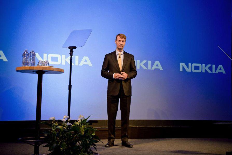 Nokian hallituksen nykyisen puheenjohtaja Risto Siilasmaan uuden kirjan mukaan erityisesti Jorma Ollilan tuoma huutojohtaminen oli yksi syy Nokian puhelinbisneksen romahdukseen. Arkistokuva.