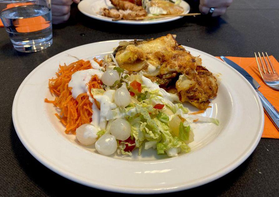 Makosan moussaka on tervetullutta vaihtelua lounasruokiin.