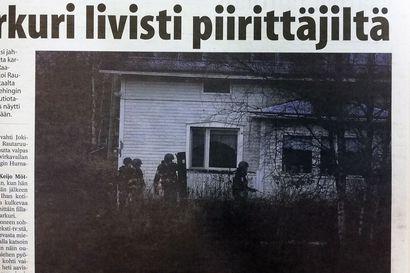 Vuosien takaa: Sonkajärven sissi juoksutti vartijoita ja poliisia lokakuussa 2010