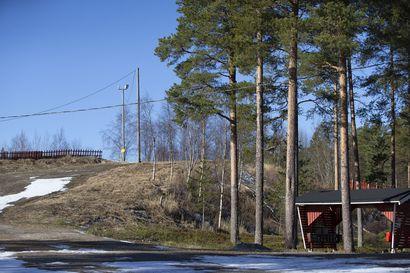 Kuntoiluportaat Raahen hiihtomajalle ensi kesänä