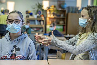 Pentti Haanpään koululla koronavirustartunta – kaksi koululuokkaa karanteeniin