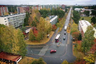 Valtatie remontoidaan Länsi-Tuirassa – katu kavennetaan ja muutetaan joukkoliikennepainotteiseksi