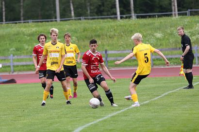 FC Raahelle niukka tappio sarjakärjelle