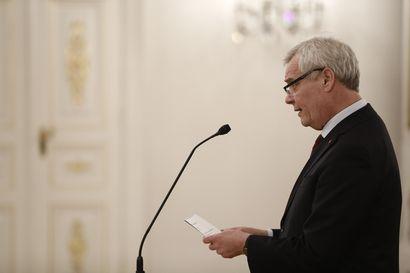 Entinen pääministeri Antti Rinne valittiin eduskunnan ensimmäiseksi varapuhemieheksi