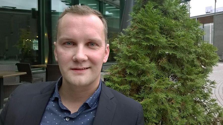 Profin Oy:n toimitusjohtaja Mikko Haapala ryhtyi yrittäjäksi viisi vuotta sitten.