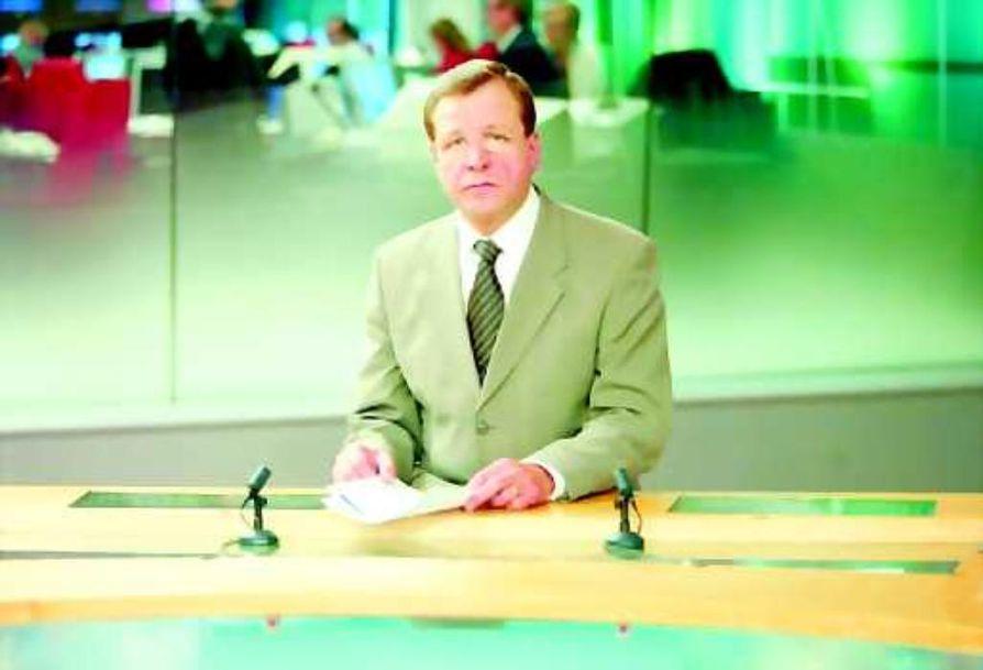 Arvi Lind jätti tv-uutiset keskiviikkona 15. lokakuuta.