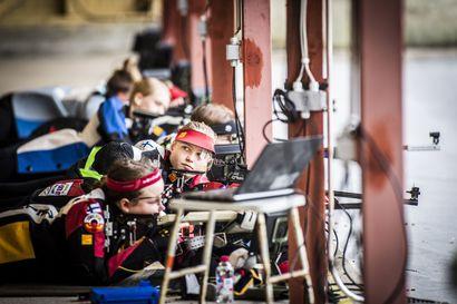 Alexandra Rosenlew paransi kolmiasentoisen kilpailun Suomen ennätystä Toramolla