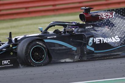 Hamilton voitti viimeisen kierroksen rengasrikosta huolimatta, epäonni pudotti Bottaksen pisteiltä