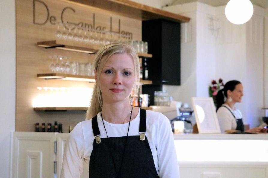 Elämysjohtaja Eeva Kourin mukaan hotelli-ravintola De Gamlas Hemin tärkeimmät tuotteet ovat laadukas ruoka ja hyvät unet.