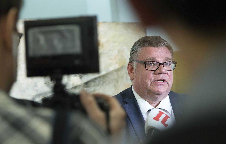 Timo Soinin pitämän lehdistötilaisuuden aihetta ei ole ilmoitettu etukäteen. Arkistokuva.