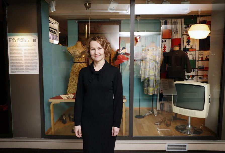Museo- ja tiedekeskus Luupin johtaja Jonna-Marleena Härö toivoo, että Oulun kaupungissa katsotaan pitkälle tulevaisuuteen.