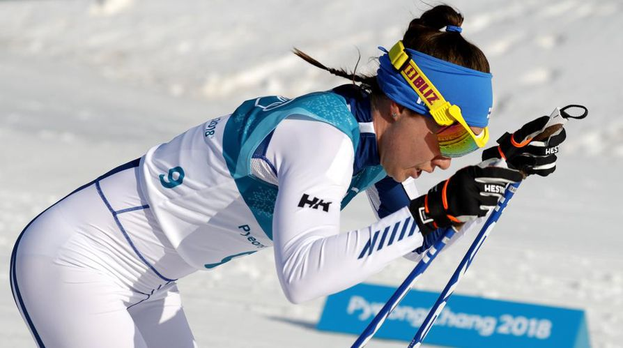 Kerttu Niskanen oli kuudes olympialaisten päätösmatkalla, 30 kilometrin perinteisen tyylin kisassa.