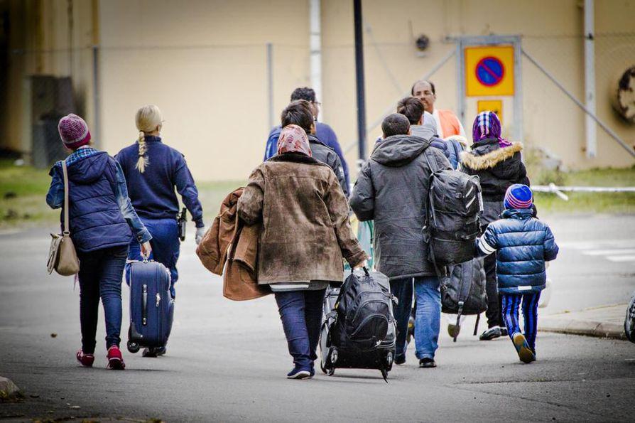 Muiden muassa Syyrian sisällissota ajoi sadattuhannet ihmiset lähtemään kotimaastaan Eurooppaan turvapaikanhakijoiksi. Arkistokuva.