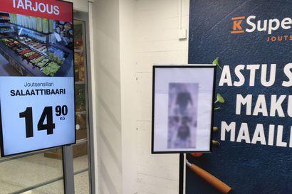 """Joutsensillan K-Supermarket laittoi myymälävarkaiden kuvat esille, K-kauppiasliitto tyrmää toimintatavan – """"Oli olosuhde mikä hyvänsä, niin tuo on väärä tapa tarttua asioihin"""""""