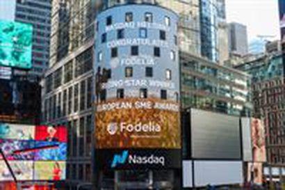 Fodelia Oyj voittajaksi 20:nen eurooppalaisen pörssiyhtiön keskuudesta –tunnustus suorituskyvystä, kehittyvästä liiketoiminnasta ja kasvusta