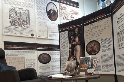Kultaryntäystä esitellään Tervolan kirjastossa