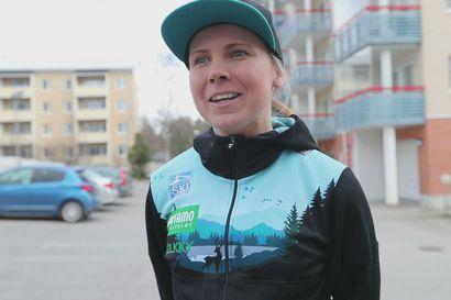 Susanna Saapunki ja vuorijuoksu .