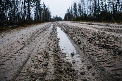 Kittilän kunta moittii Väylävirastoa Lapin huonokuntoisten sorateiden unohtamisesta