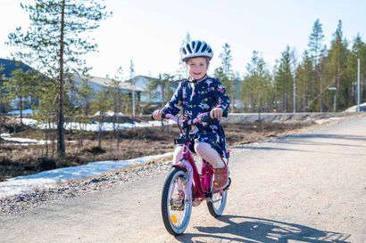 Lapissa kampanjoidaan kaikin voimin pyöräilykypärättömyyttä vastaan