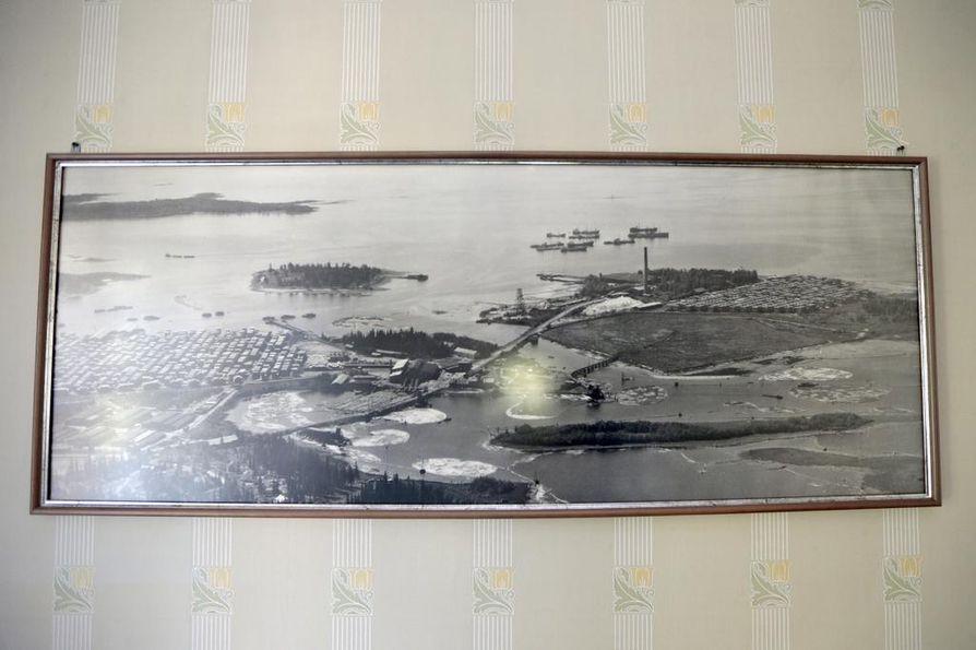Martinniemi oli 1920-luvulta lähtien elinvoimainen teollisuuspaikka.