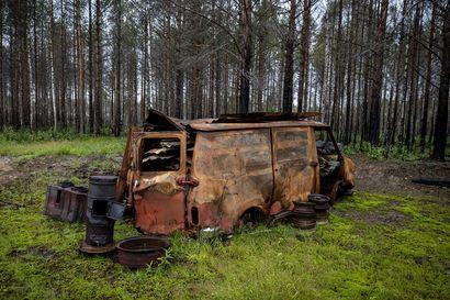 Tuhossa on uuden alku – kävimme katsomassa, miltä viimekesäinen metsäpaloalue Muhoksella näyttää