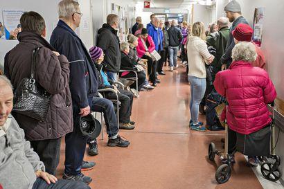 Influenssarokotteet ovat loppumassa Oulusta, eikä uusia aikoja rokotuksiin ole saatavilla