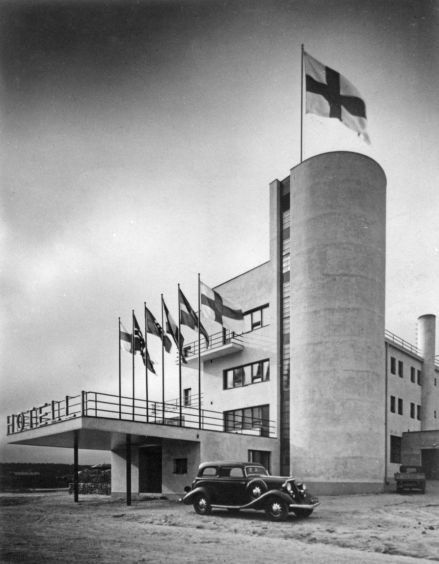Hotelli  Pohjanhovi 1936.