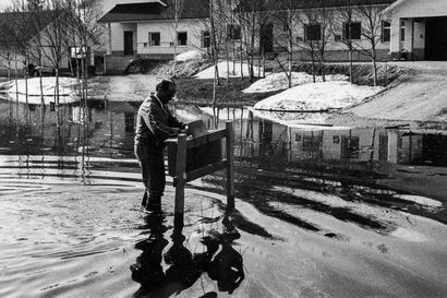Kuvagalleria: Rovaniemen tuhoisimmasta tulvasta on jo 161 vuotta, mutta uhkaavia tulvia on koettu viime vuosikymmeninäkin