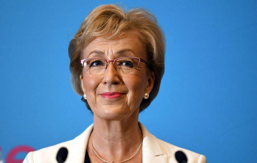 Andrea Leadsom oli Theresa Mayn vastaehdokas vuonna 2016. Hän luopui leikistä ennen jäsenistön postiäänestystä.