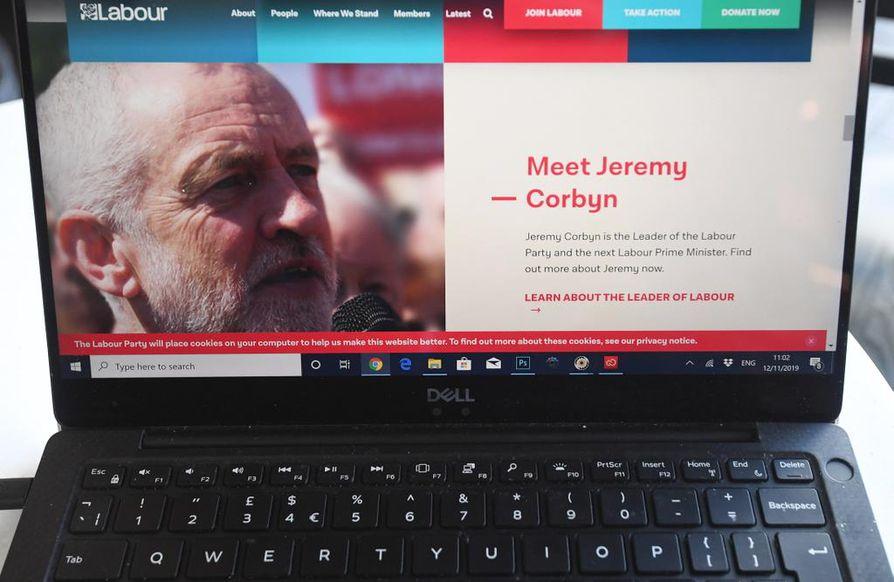 Britannian työväenpuolue kertoi joutuneensa kyberhyökkäyksen kohteeksi tiistaina.
