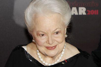 Hollywoodin kulta-ajan legenda Olivia de Havilland on kuollut 104-vuotiaana