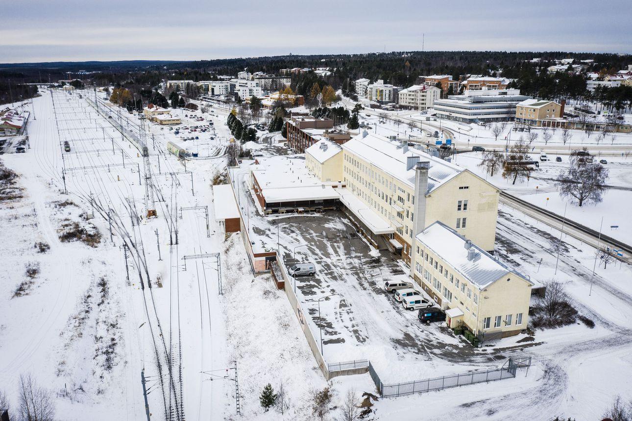 Rautatieaseman ympäristöön esitetään isoja muutoksia Rovaniemellä – postirakennukseen hotelli, runsaasti uusia kerrostaloja