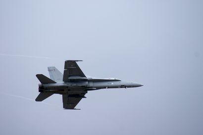 Suomen ja Ruotsin ilmavoimat harjoittelevat tällä viikolla – jylinää tiedossa myös Pudasjärven ilmatilassa