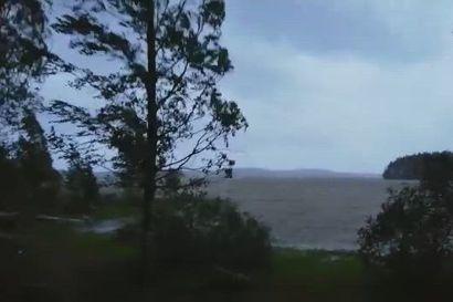 Päivö-myrsky riehui Itä-Suomessa