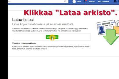 Näin tilaat Facebookin sinusta keräämät tiedot – katso selkeä ohjevideo