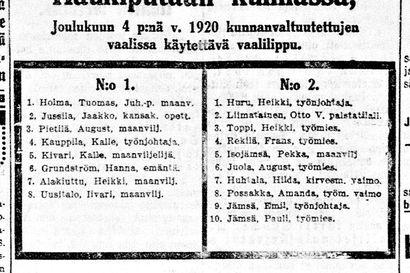 Vanha Kaleva: Teatteriarpajaiset Oulun Teatterin hyväksi