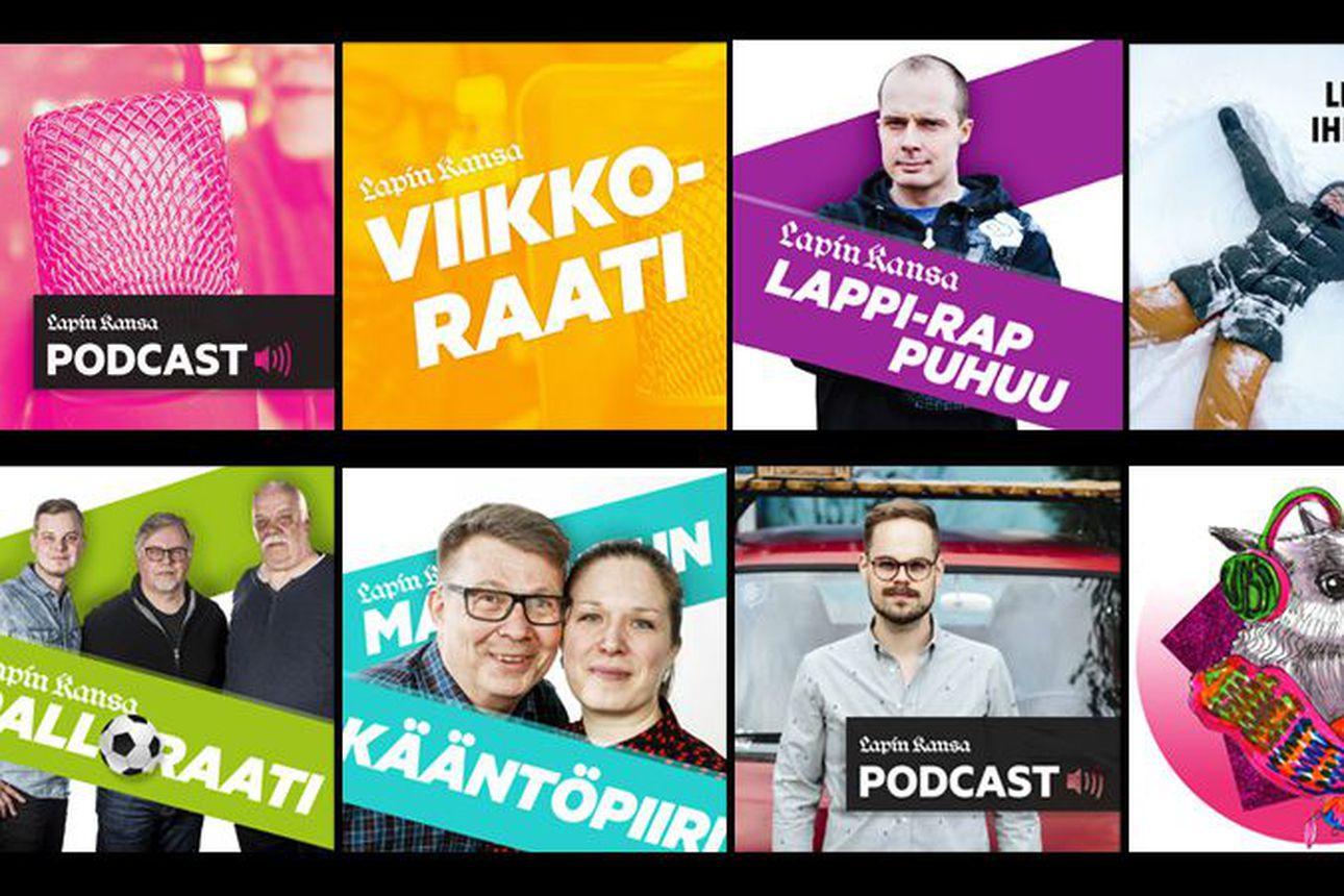 Lapin Kansa julkaisee monta podcast-sarjaa joka viikko, tunnetko jo ne kaikki? –Lue esittelyt tästä