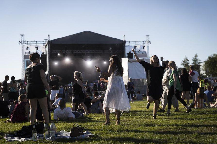 Suomipop Festivaali keräsi Kuusisaareen viime kesänä 24 000 ihmistä.