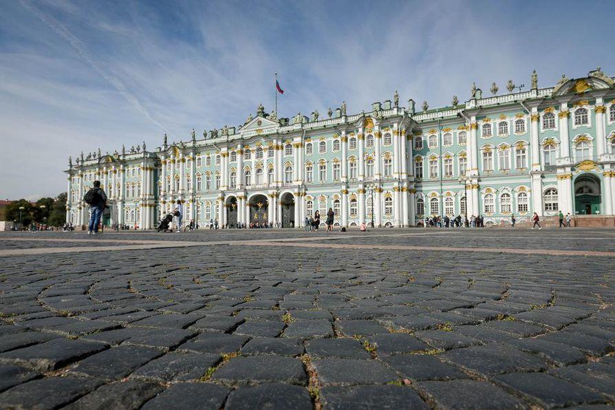 Keisariperheen Talvipalatsi on Eremitaashin taidemuseon päärakennus.